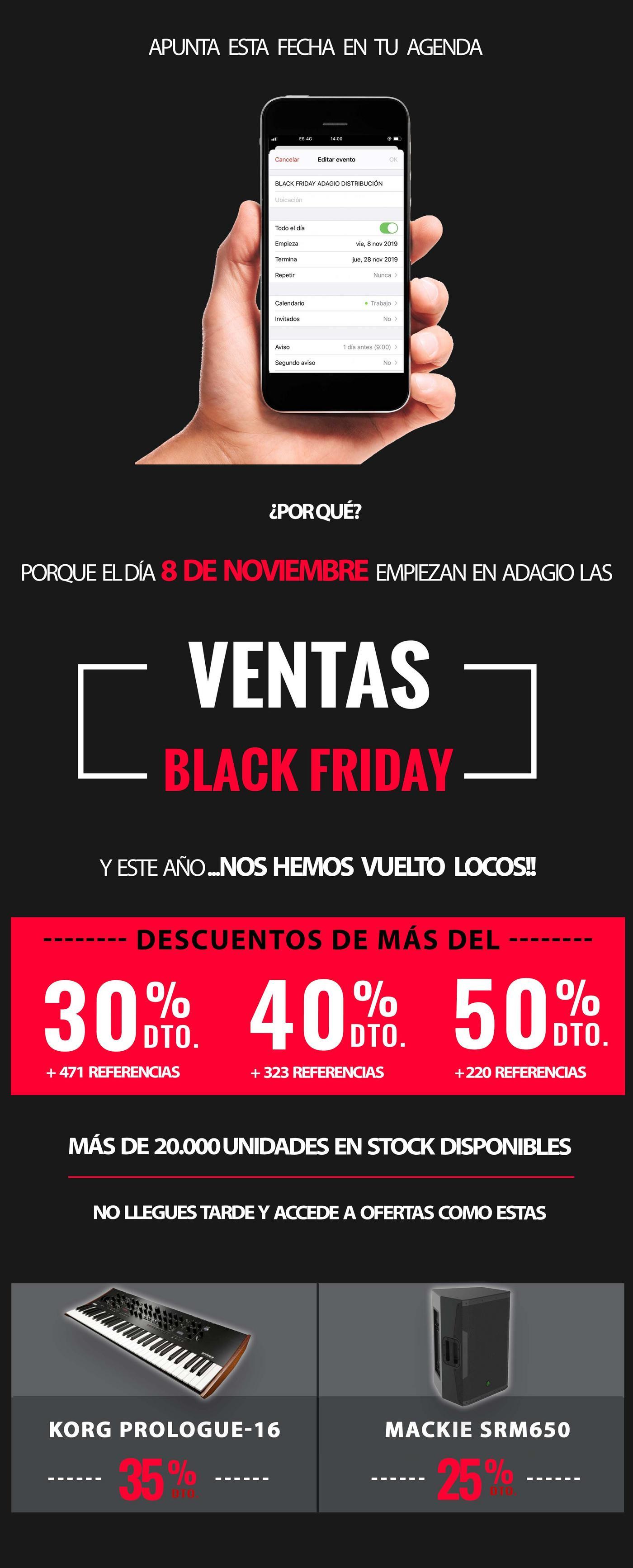 CAMPAÑA BLACK FRIDAY 25% DE DESCUENTO EN MILES DE PRODUCTOS DE TODAS NUESTRAS MARCAS